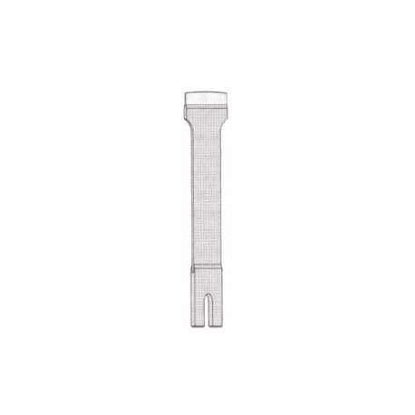 Lama shaber cu insertie, H2 RENZ 25 / 120mm