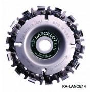IND.FG.400 Disc sculptura/rindeluire Turbo Plane Arbortech