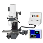 Freza WABECO CNC CC-F 1200E cu soft NCCAD BASIC