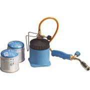 Lampa de lipit cu gaz LM3000, furtun 1,5m , include 2 butelii
